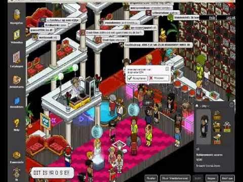 Night Club ~R O S E~ Habbo.nl Big Party! - YouTube