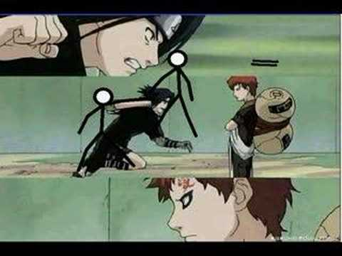 Pivot Stick Animator Sasuke Vs Gaara Youtube