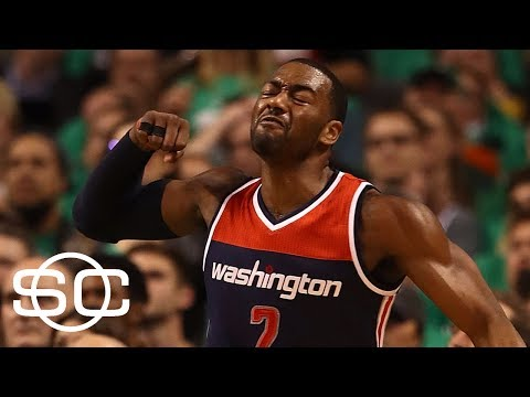 What Is Stopping John Wall From Signing Extension? | SportsCenter | ESPN