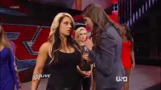 Repeat youtube video AJ Lee and Stephanie McMahon and  Kaitlyn Segment