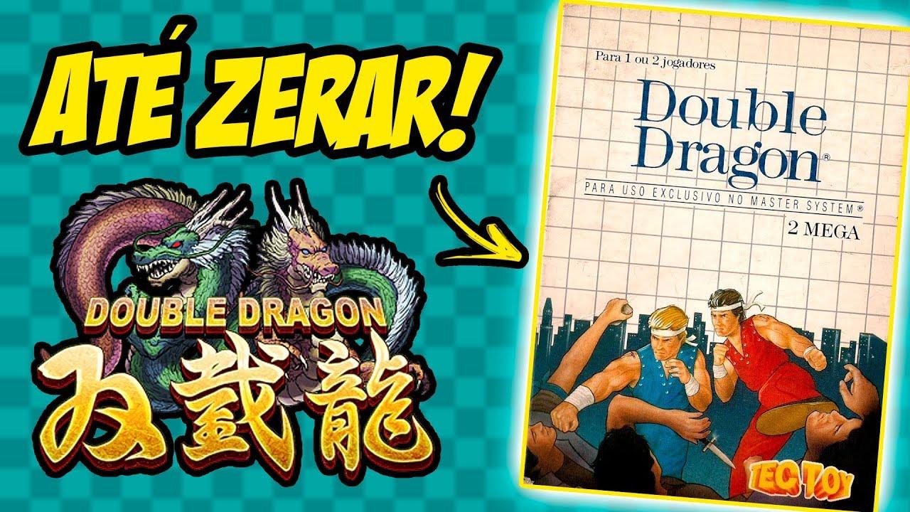 DOUBLE DRAGON até ZERAR! (Master System - ao vivo)
