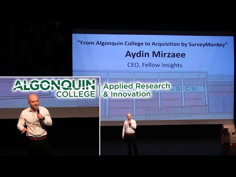 Aydin Mirzaee | Applied Research Day - Guest Speaker