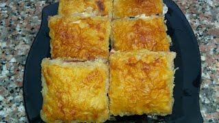 جلاش بالجبنه والزيتون بدون بيض مع صدفه جاد