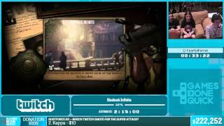 Bioshock Infinite by FearfulFerret in 1:53:54 - Summer Games Done Quick 2015 - Part 38