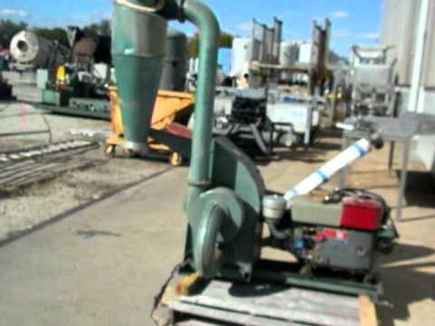 Used- Pellet Pros Diesel Driven Hammer Mill, Model PP1000D - Stock# 42462022