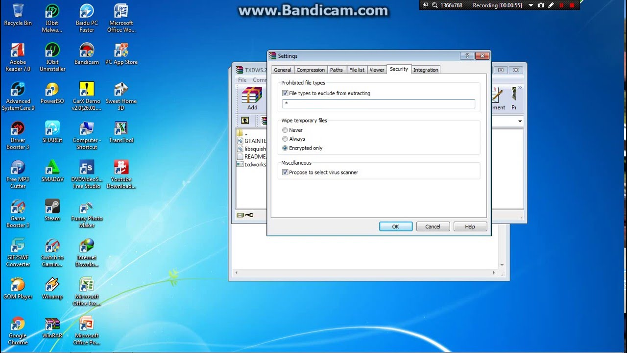 how to fix winrar extracting error because cannot execute