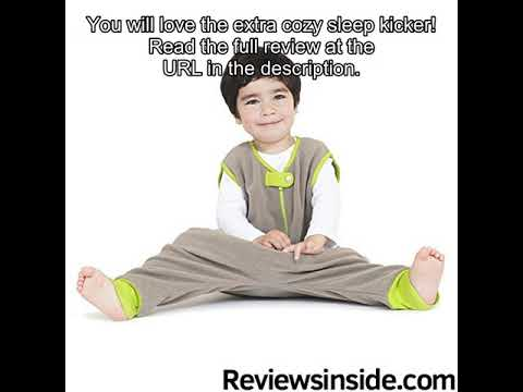 Baby Deedee Kicker Sack with Feet Sleep Bag, Khaki, 2-4T review