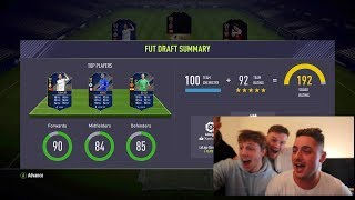 I GOT THE FIRST EVER 192 TOTY FUT DRAFT! - FIFA 18 TEAM OF THE YEAR