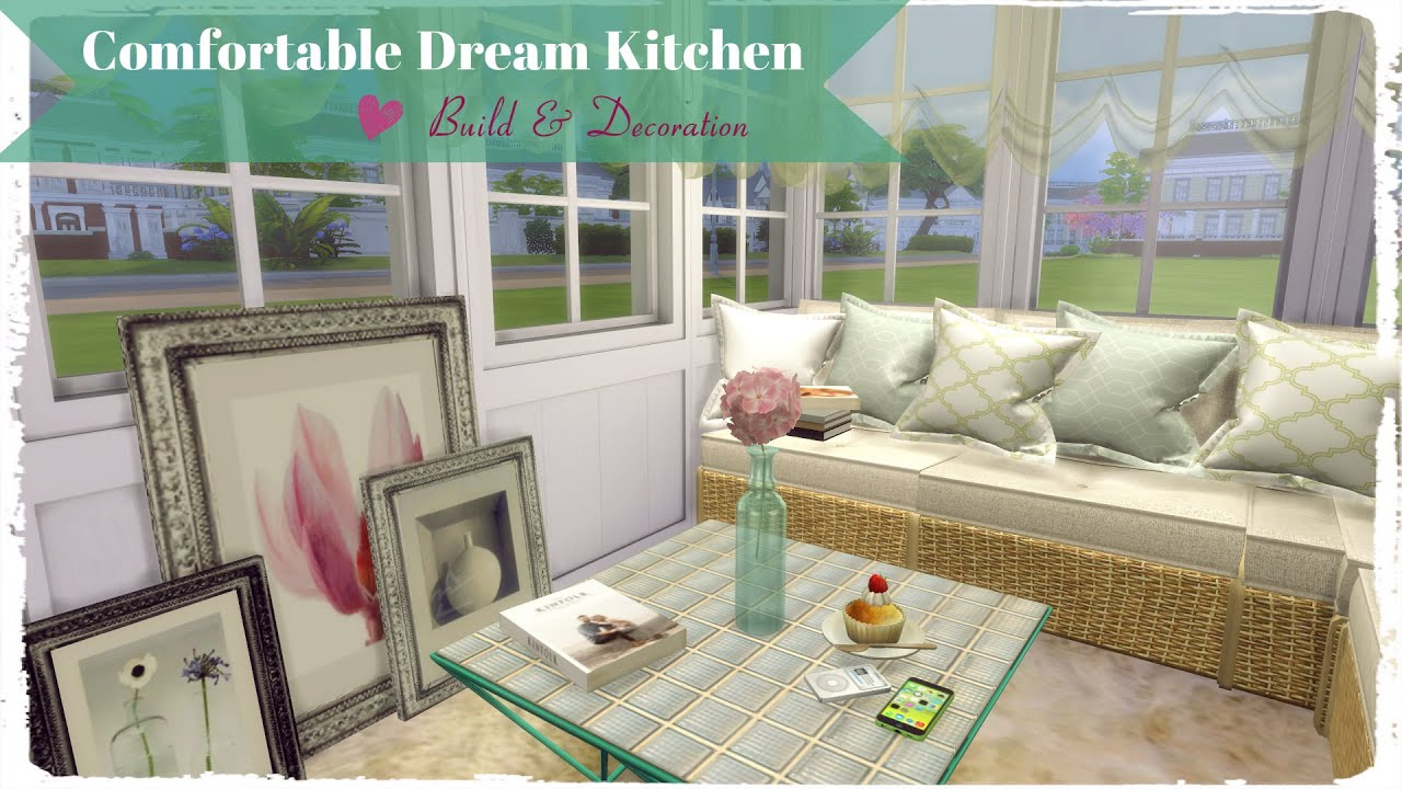 Sims 4 fortable Dream Kitchen