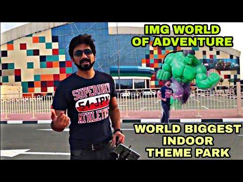 IMG WORLD OF ADVENTURE – WORLD BIGGEST INDOOR THEME PARK – DUBAI – FULL TOUR