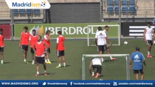 Real Madrid Training: More Ball Movement, Preseason with Ancelotti
