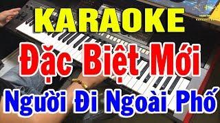 Karaoke Nhạc Sống Nhạc Vàng Đàn Organ Cực Hay | Liên Khúc Người Đi Ngoài Phố | Trọng Hiếu