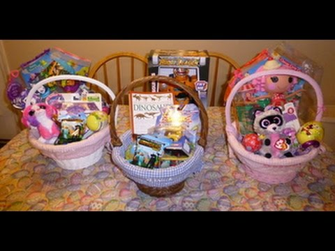 Whats in my kids easter baskets mommydani2 youtube negle Gallery