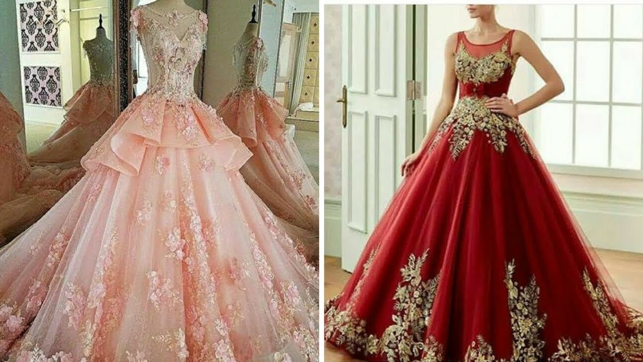 Designer Gown collection - Sep - 2017 - YouTube