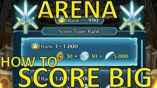 How to Score Big in Arena/Arena Assault / Fire Emblem Heroes