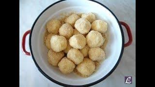 Творожные шарики в сухарях