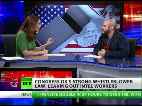 The war on whistleblowers takes an unexpected turn