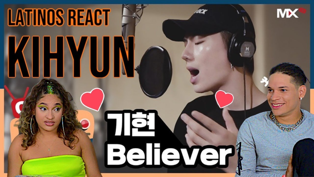 Waleska & Efra reacts to MONSTA X's KIHYUN - Believer (COVER.) | REACTION