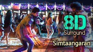 Simtaangaran 8D | Sarkar | Thalapathy Vijay | Keerthy Suresh | A.R. Rahman | A.R. Murugadoss