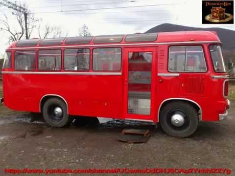 Кафе на колесах со старого автобуса !!