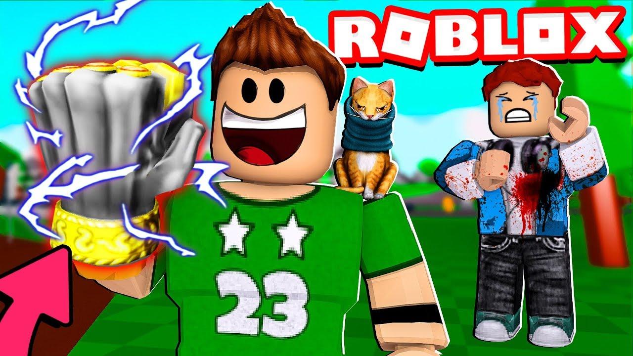 Conseguimos El Puno Mas Fuerte De Roblox Roblox Fighting