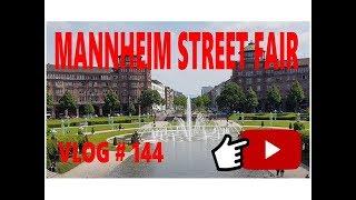 Mannheim Street Fair Mannheim Germany