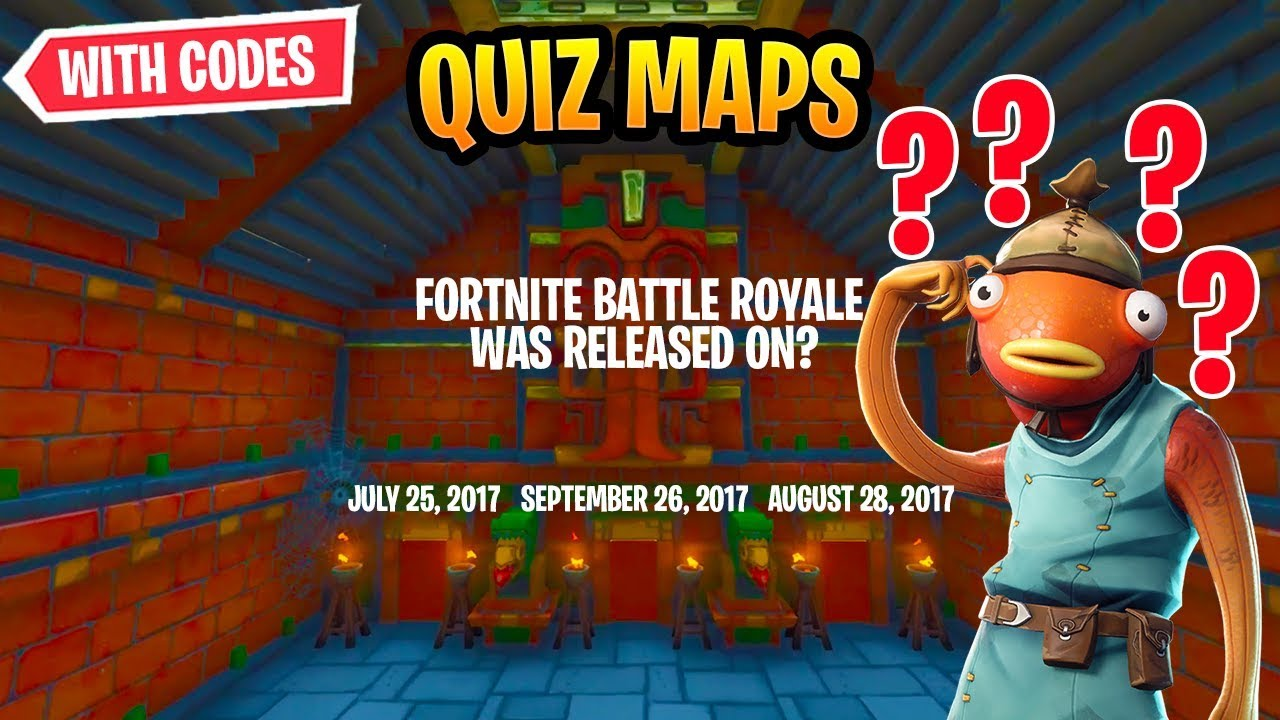 Best Fortnite Quiz Creative Mode Maps With Codes!