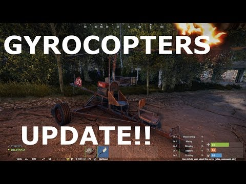 RUST.....New Update....GYROCOPTERS  :) thumbnail