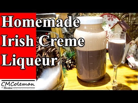 Homemade Irish Creme Liqueur