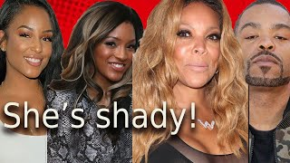 Wendy Williams hooked up with Method Man! Wife Tamika responds + her biopic  Letoya drags Drew RHOA!