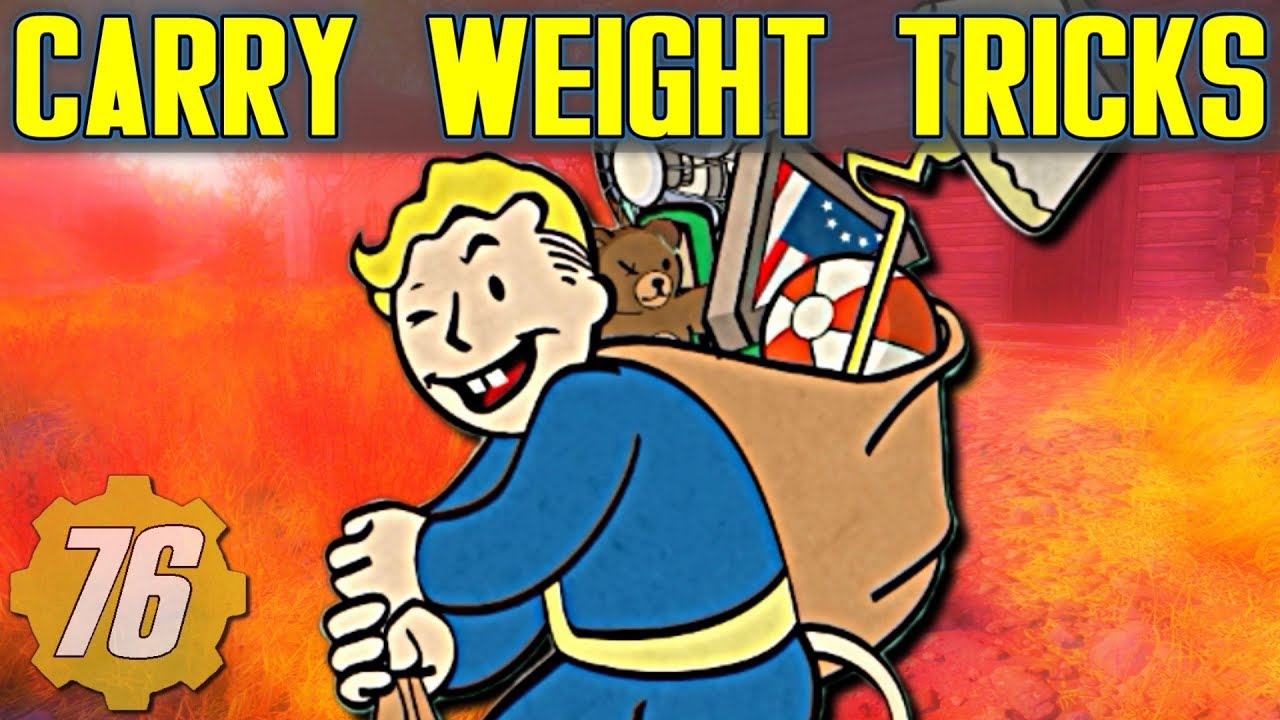Dealing With Carry Weight & Stash Tricks Guide - FalloutBuilds com