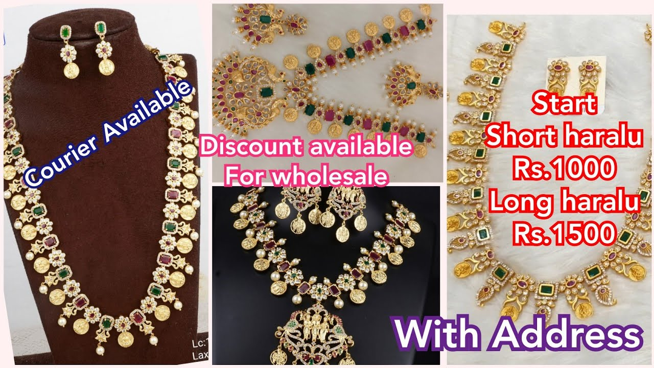 wholesale & Retail Latest jewellery with Address | Discount available with wholesale purchase