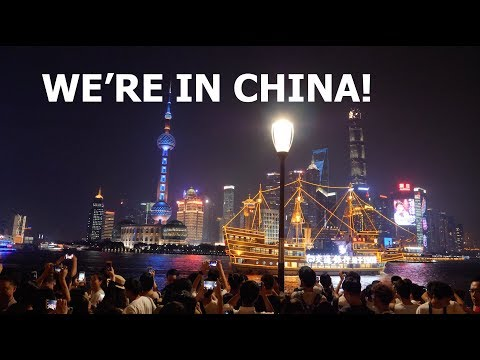 WE'RE IN CHINA!  |   VLOG 016
