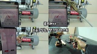 compressor noise, power  test …