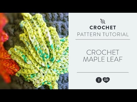 Crochet Maple Leaf
