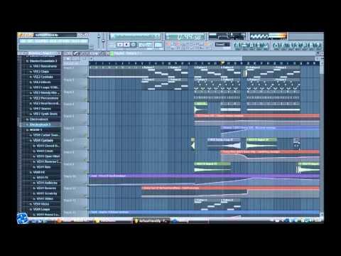 FL Studio Remake: Chris Brown ft. Afrojack - As Your Friend (Daniel Diazz) + FLP