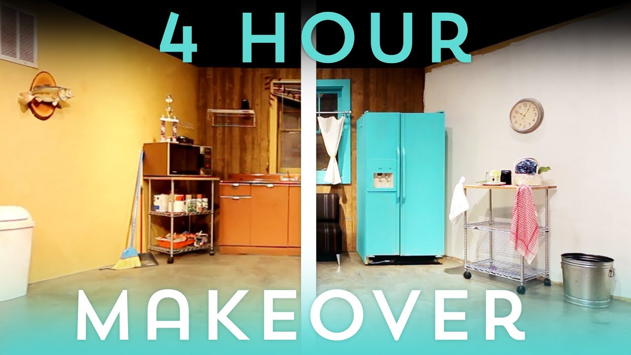 The 4 Hour Apartment Makeover!  Youtube