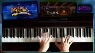 Repeat youtube video Monkey Island Theme Extended, Piano