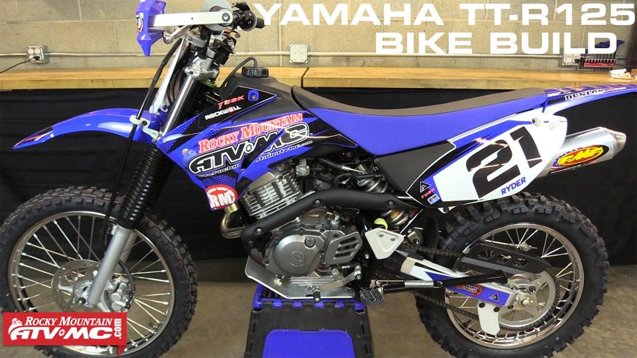 yamaha ttr 125 bike build