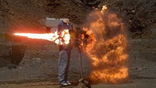 Massive Explosive Chain Reaction at 200,000fps  The Slow Mo Guys