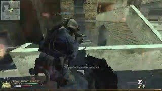 Call of Duty MW2 Skidrow - MP5K silenced PC Gameplay