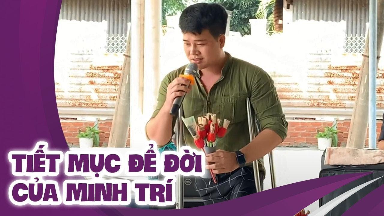Hát theo yêu cầu   Minh Trí hát lại tiết mục lấy nước mắt khán giả trong cuộc thi DTDCVC