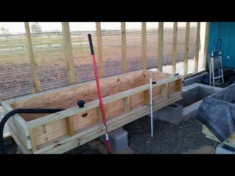 Backyard Aquaponics - System Contruction - Designed for Warmer Area - Texas - Growing Organic