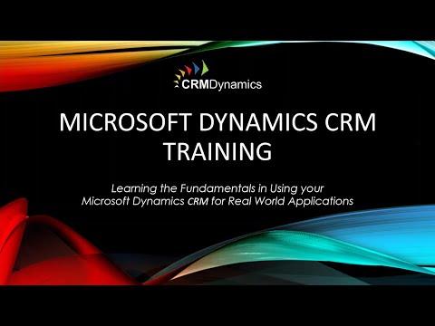 Microsoft Dynamics CRM 2015 Training: Workflow Basics (26:56)
