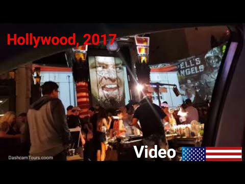 Los Angeles Driving Tour: Hollywood & Beverly Hills, California, USA