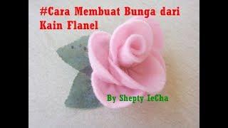 Tutorial cara membuat bunga dari kain flanel dengan mudah.. jangan lupa like, komen, share, dan subscribe ya.. :-)