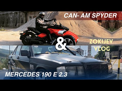 Zokijev vlog: CanAm Spyder & Mercedes 190e 2.3