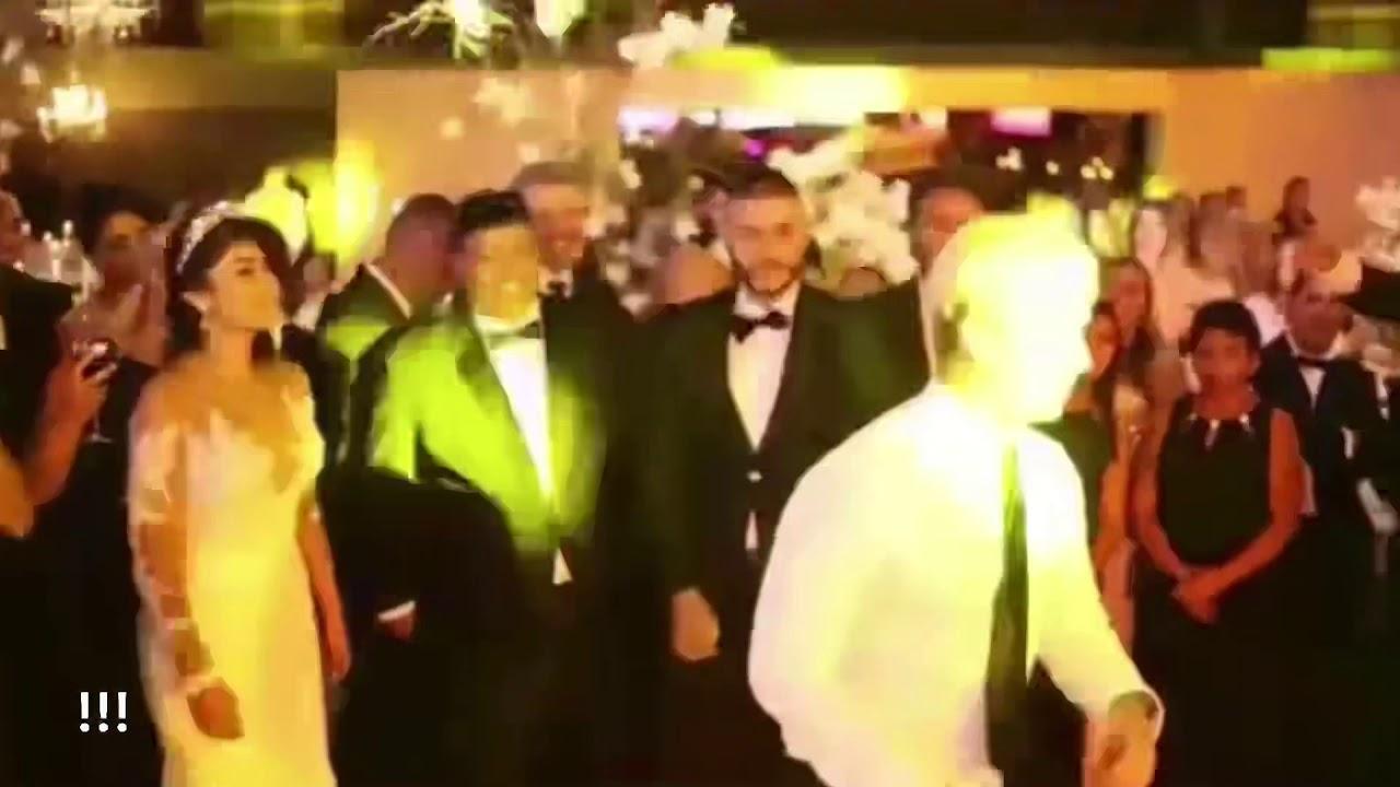 Se cae J Balvin haciendo Maroma en la Boda de Nicky Jam