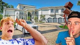 HIDE AND SEEK IN JAKE PAULS HOUSE!