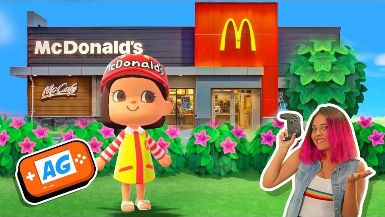 COMO Construir 1 MACDONALDS en Animal Crossing NEW Horizons ?? |  Animal Crossing Español